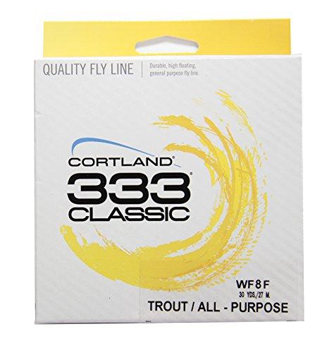 Cortland 351509 Classic 333 Flyline WF8F Yellow