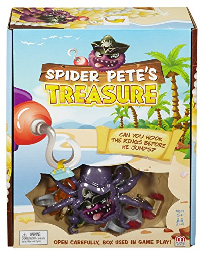 Mattel Games Spider Pete's Treasure Game ()