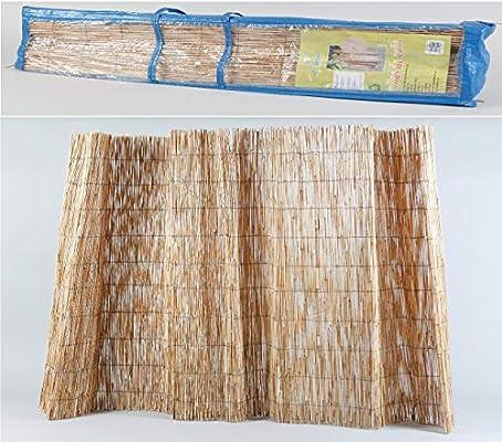 thesecrethome.es Valla OCULTACIÓN Exterior CAÑIZO 5 x 1 m para JARDÍN O TERRAZA: Amazon.es: Hogar