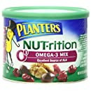 Planters Nutrition Omega-3 Mix, 9.25 oz. Canister (Count of 2)