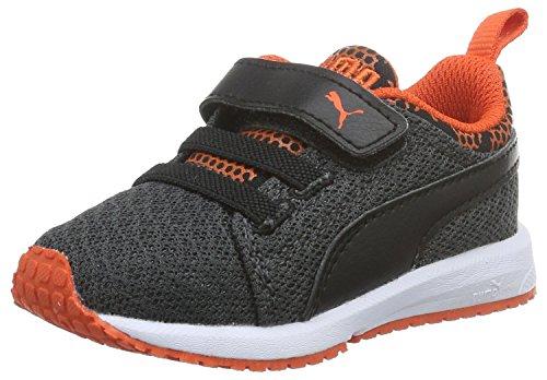 Puma Unisex-Kinder Carson Nightc V Outdoor Fitnessschuhe Schwarz (Dark Shadow-Puma Black 01)