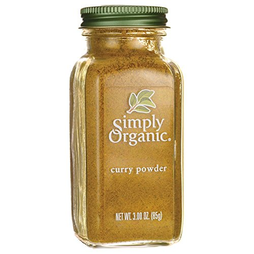 (Simply Organic Curry Powder Certified Organic, 3-Ounce Bottle)