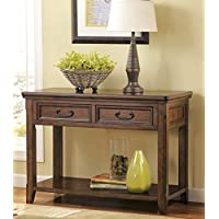 Woodboro Dark Brown Color Sofa Table