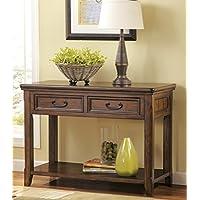 Woodboro Dark Brown Color Sofa Table