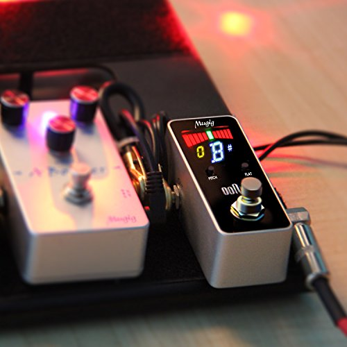 Tuner Pedal for Guitar and Bass - Mini - Chromatic - with Pitch Calibration and Flat Tuning by Mugig by Mugig (Image #6)
