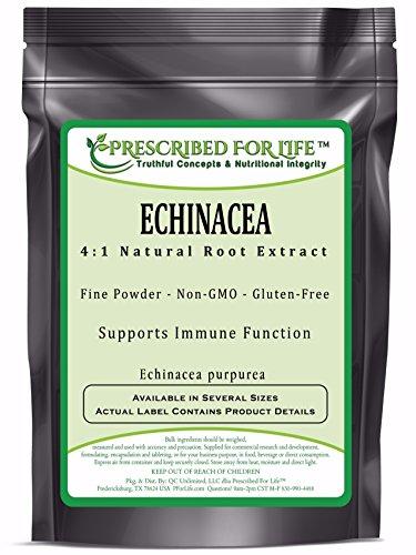 Echinacea - 4:1 Natural Root Extract Powder (Echinacea purpurea), 1 ()
