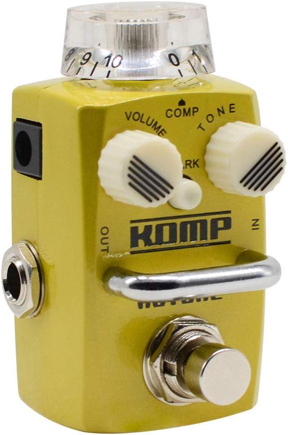 Hotone Skyline Komp Analog Opto LA2A Style Compresor óptico Guitarra Bass Effects Pedal
