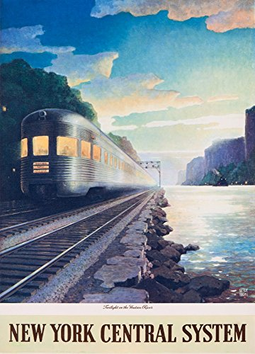 new york central system poster - 8