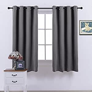 Nicetown Blackout Curtains Window Treatment