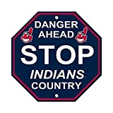 Cleveland Indians Stop Sign