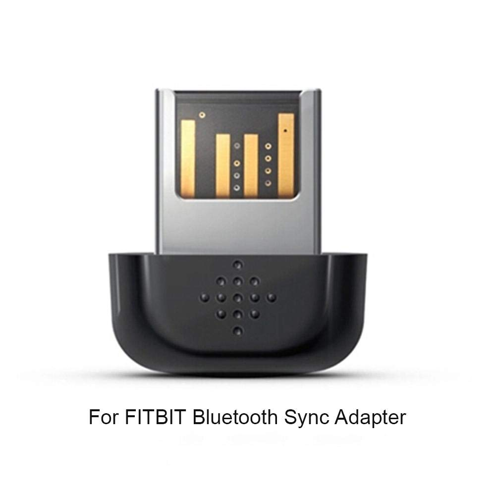 Interfaccia USB velocit/à di Trasferimento Veloce Bluetooth 4.0 Sincronizzazione dei Dati con Il Computer Politice Adattatore di Sincronizzazione Bluetooth per Fitbit