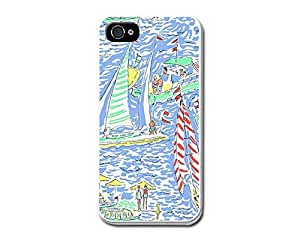 Lilly Pulitzer White Hard Plastic Case for iPhone 6