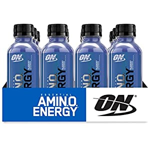 Optimum Nutrition Amino Energy with Green Tea and Green Coffee Extract, Preworkout and Amino Acids, White Peach Tea, 30 Servings