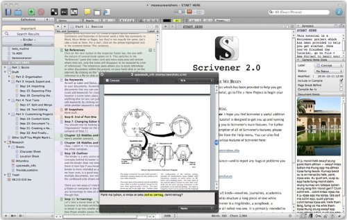 scrivener serial number and name
