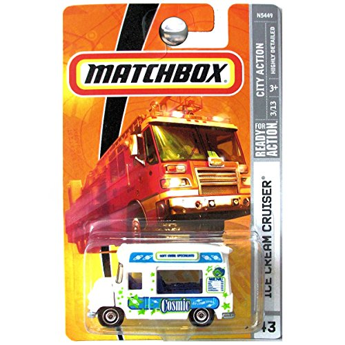 Matchbox 2009 #43 Ice Cream Cruiser Truck 1:64 Scale for sale  Delivered anywhere in USA