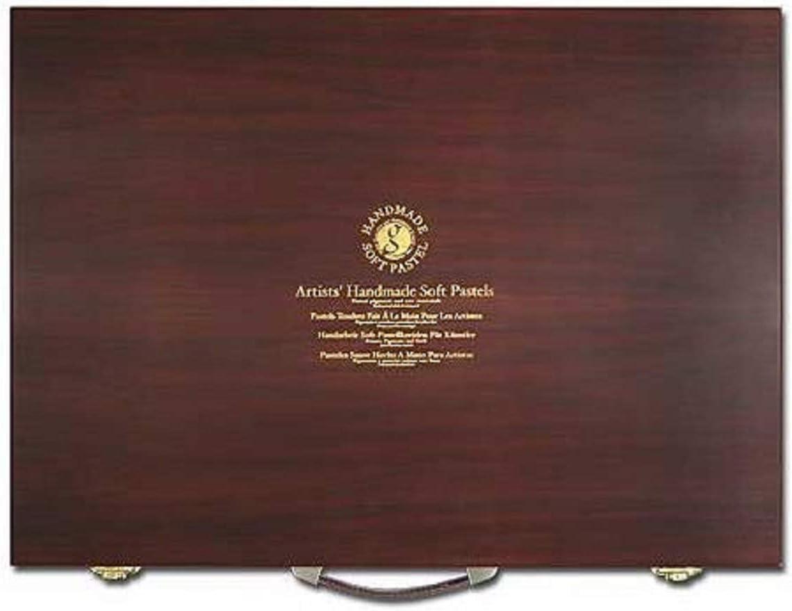 Mungyo Professional Galerie Handmade Soft Pastel 200 Couleurs Bois Artiste mphm 200 W