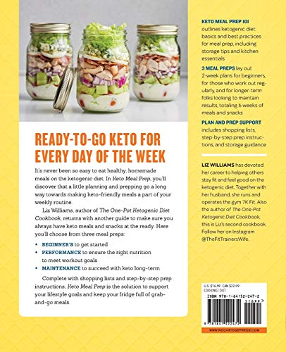 Keto Meal Prep: Lose Weight, Save Time, and Feel Your Best on the Ketogenic Diet - medicalbooks.filipinodoctors.org