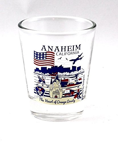 Anaheim California Great American Cities Collection Shot Glass]()