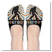 Bigfoot Vintage Sasquatch Women No-Show Casual Liner Socks Low Cut Ankle Socks Boat Socks