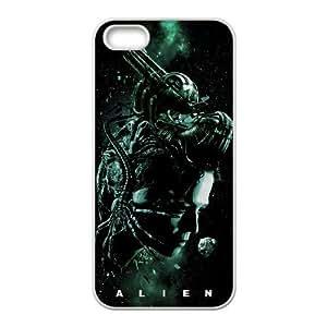 Alien Xenomorph iPhone5s Cell Phone Case White Decoration pjz003-3734476