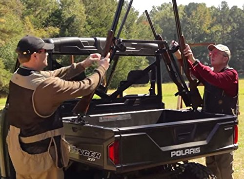 Kawasaki Teryx 4 2016 Sporting Clays UTV Gun Rack for Your Cargo Bed by Great Day