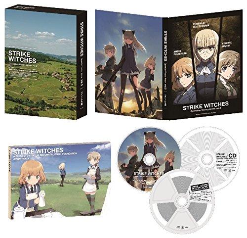 【Amazon.co.jp限定】ストライクウィッチーズ Operation Victory Arrow vol.3 アルンヘムの橋 限定版 (後日談ドラマCD「ミッドナイトインパドカレー」付き)[Blu-ray] B00WSSXFXG
