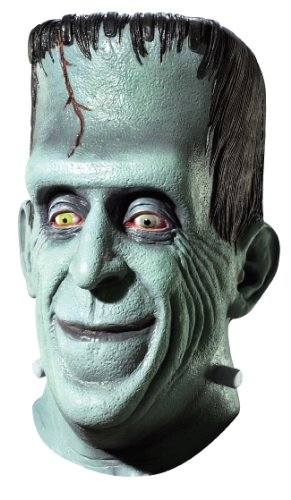 Herman Munster Mask (The Munster's Herman Mask, Green, One Size)