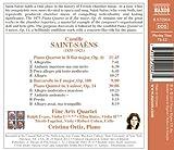 Saint-Saens: Piano Quartet in B flat major, Piano Quintet in A minor, Barcarolle in F major