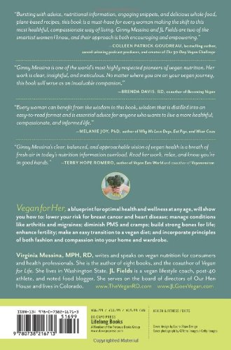 Vegan for her the womans guide to being healthy and fit on a plant vegan for her the womans guide to being healthy and fit on a plant based diet amazon j l fields virginia messina libros en idiomas extranjeros malvernweather