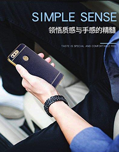 Funda Huawei Honor 8,Manyip Alta Calidad Ultra Slim Anti-Rasguño y Resistente Huellas Dactilares Totalmente Protectora Caso de Cuero Cover Case Adecuado para el Huawei Honor 8 D