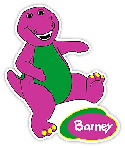 Barney logo sticker decal 4