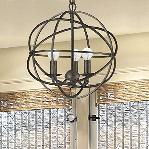 Crystorama 9225-EB Traditional Three Light Mini Chandeliers from Solaris collection in Bronze/Darkfinish, - Light Chandelier Crystorama Lighting