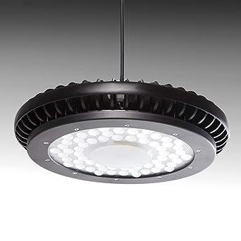 Greenice | Campana LED UFO IP65 90º 200W 22000Lm 50.000H | Blanco Frío