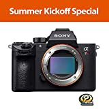 Sony a7R III Mirrorless Camera: 42.4MP Full Frame High Resolution Mirrorless Interchangeable Lens Digital Camera with Front End LSI Image Processor, 4K HDR Video and 3' LCD Screen - ILCE7RM3/B Body