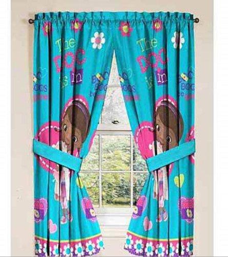 Doc McStuffins Curtains Window Panels