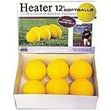 Heater Sports 12 Inch Pitching Machine Softballs by the Dozen