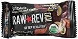 Raw Revolution 100 Calorie Organic Live Food Bar, Chocolate Crave, 0.8 Ounce (Pack of 20)