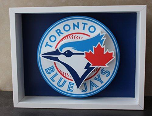Toronto Blue Jays Baseball Picture Custom Frame 3D Art - Toronto Glasses Frames