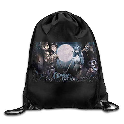 Victor Corpse Bride Costume - Tim Burton's Corpse Bride Halloween Portable Shoulder Bags Drawstring Backpack/Rucksack