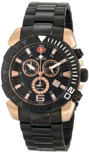Swiss Precimax Men's SP13124 Recon Pro Analog Display Swiss Quartz Black Watch