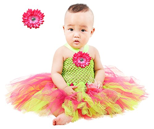 Tutu Dreams Newborn Toddler Tutu Outfits Christmas Dress up Photo Props Lime Green