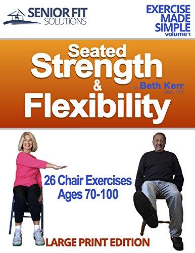 Seated Strength Flexibility Exercise Seniors ebook product image