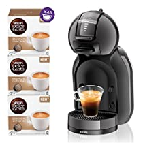 NESCAFÉ Dolce Gusto MINI ME Macchina per Caffè Espresso e altre bevande Automatica + NESCAFÉ DOLCE GUSTO ESSENZA DI MOKA Caffè espresso 3 confezioni da 16 capsule