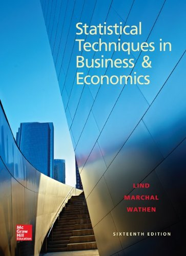 Book cover from Loose Leaf for Statistical Techniques in Business and Economics (Mcgraw-hill/Irwin Series in Operations and Decision Sciences) by Douglas A. Lind