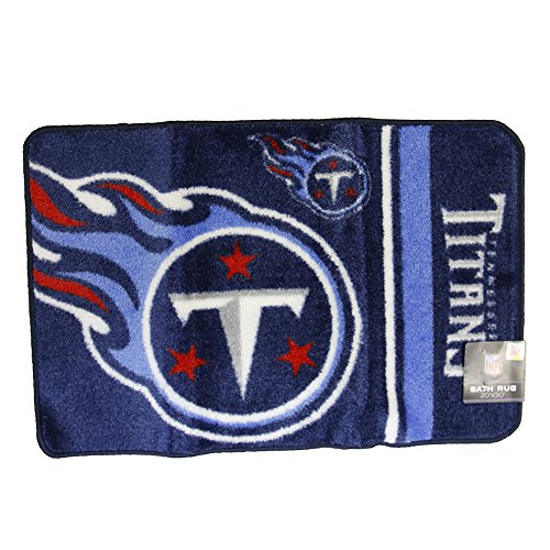 The Northwest Company Tennessee Titans Bath Rug Door Mat NFL Licensed 20