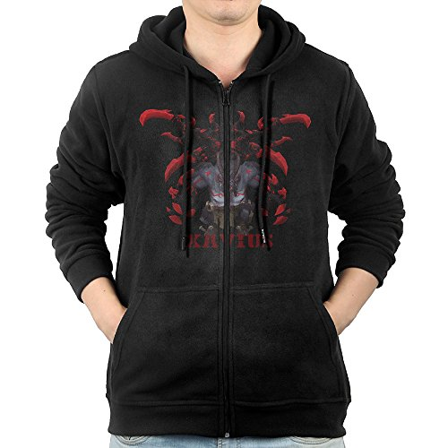 War And Peace Movie Costumes (SFG Men World Xavius Warcraft Hiphop Particular Hoodie Sweatshirt Leisure Style L Black)