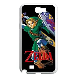 SamSung Galaxy Note2 7100 phone cases White The Legend of Zelda cell phone cases Beautiful gifts NYTR4629148