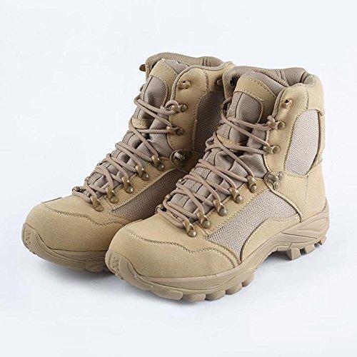 RSC Botas de Combate, Militar Desert Boots Tactical Botas de Hombre al aire libre Beige