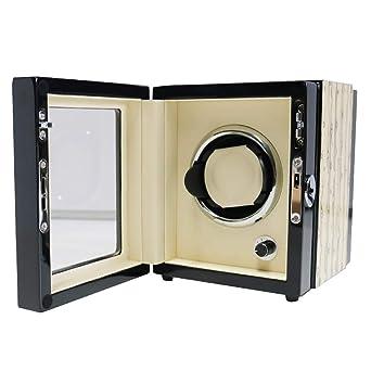SXM Caja giratoria Caja para Relojes automatico Watch Winder,for 1 ...