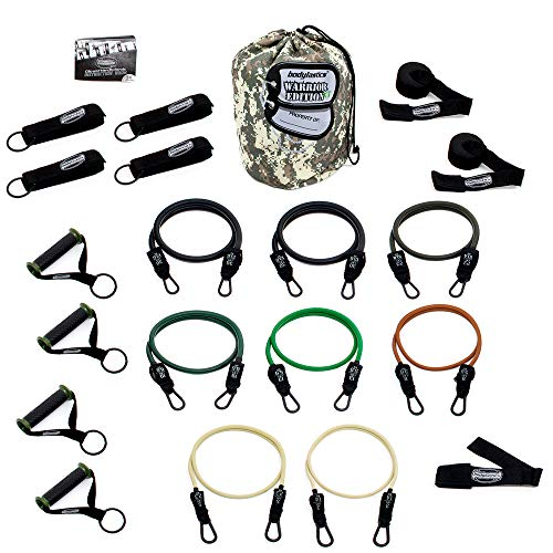Bodylastics Combat Ready Warrior Resistance Band Sets come w